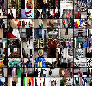 Bootschaft Fotowand Life Flag