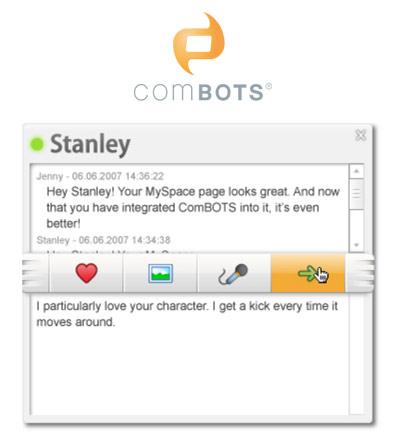 Combots Chat Neofonie Christian Bennat Flash Programmierung