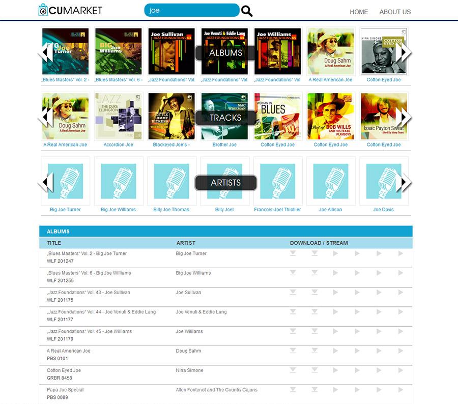 Cugate Cumarket Christian Bennat HTML Programmierung UX UI Design