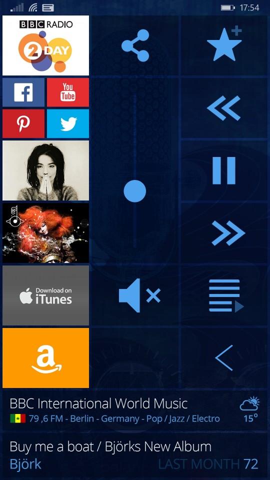 Cugate Radio App 2 Christian Bennat Programmierung UX UI Design Beratung Konzeption Interactiv