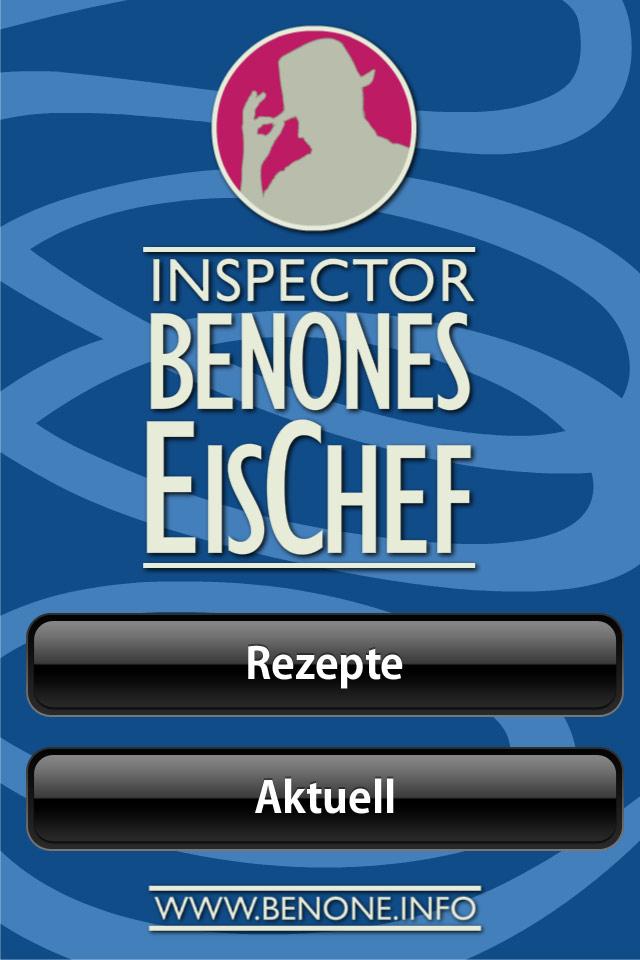 EisChef Eis Chef Christian Bennat Konzept App Design UX UI Marc Scheib