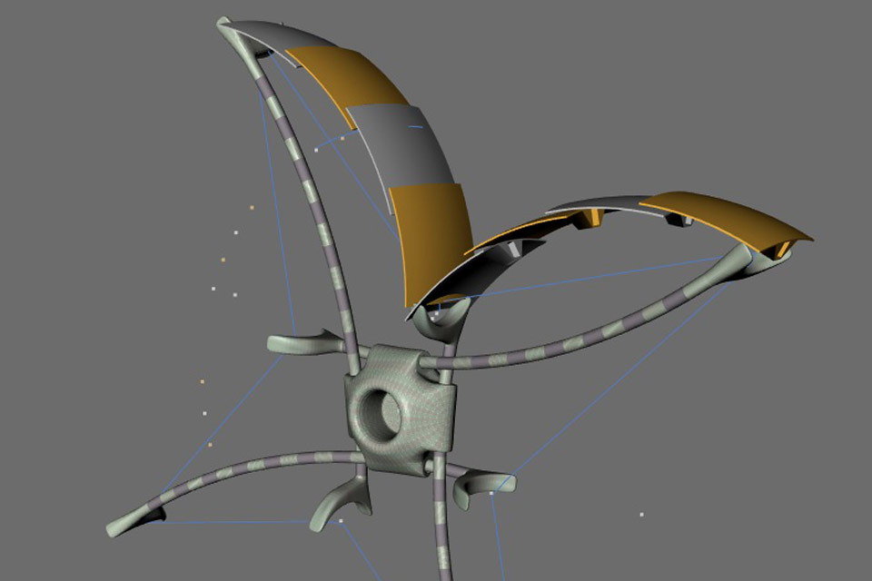c-rove Moon Rover Vehicle Objekt GLXP Google Lunar Xprice c-base Open moon Openmoon Christian Bennat Projekt Konzept Design Marten Suhr