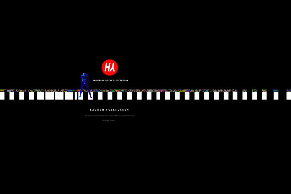 HY Opera Christian Bennat Website Flash Programmierung Multi Medialer Event Oper Theater Tanz