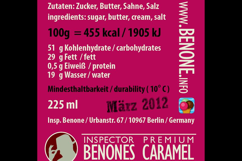 Inspector Benone Premium Caramel Christian Bennat Produkt Design