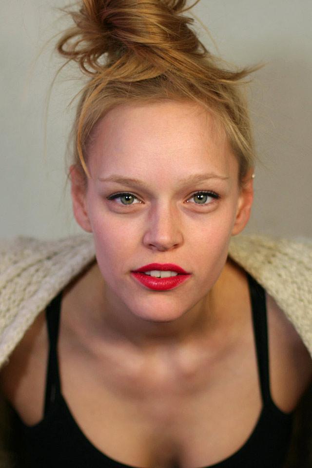 Livia Mattes Schauspielerin Model Fotografie Christian Bennat Foto 2012