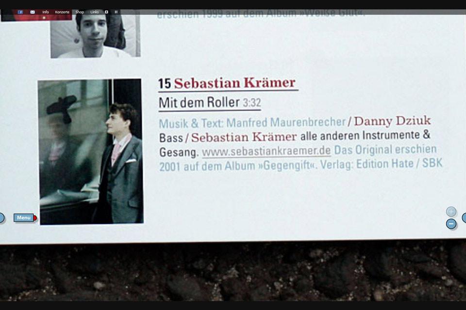Maurenbrecher Manfred Christian Bennat Website Design Flash UX UI Animation