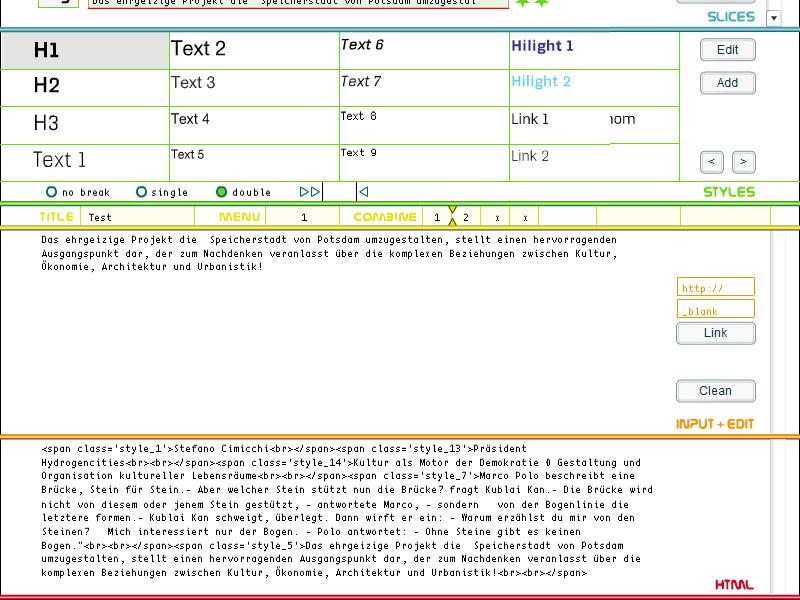 Milkiway Christian Bennat Konzept Projekt HTML Flash UX UI