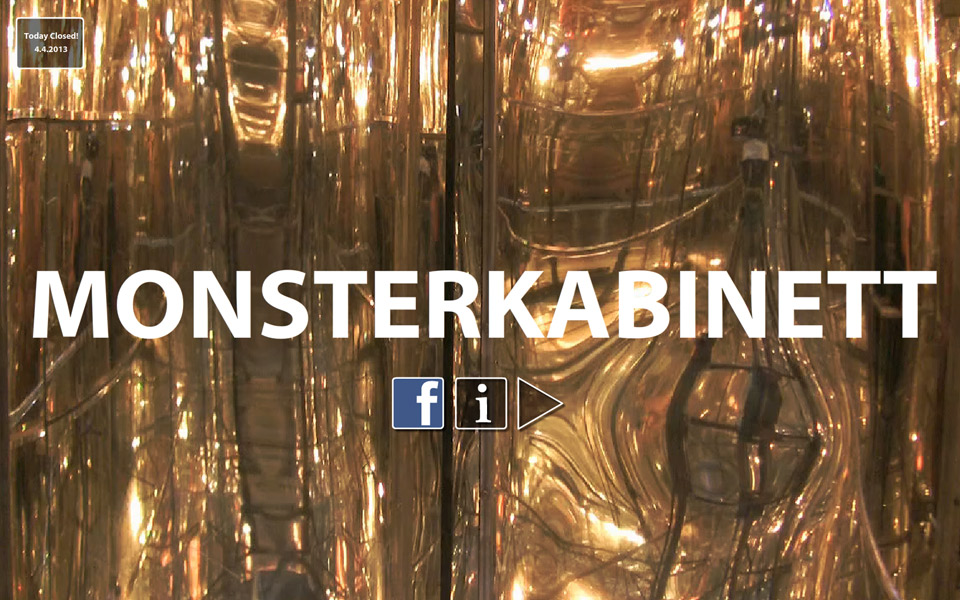 Monsterkabinett Christian Bennat Website Design Flash UX UI Programmierung