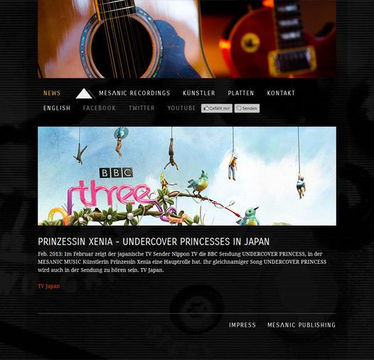 Montana Onepager 2 Christian Bennat Website Design HTML PHP UX UI Programmierung