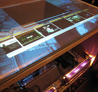MTC Multi Touch Console * Produktentwicklung