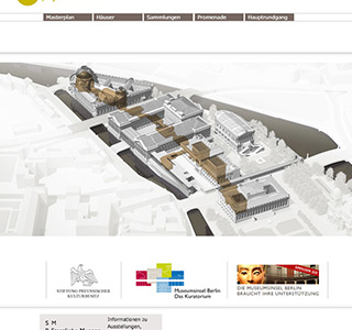 Museumsinsel Berlin * Flash Programmierung