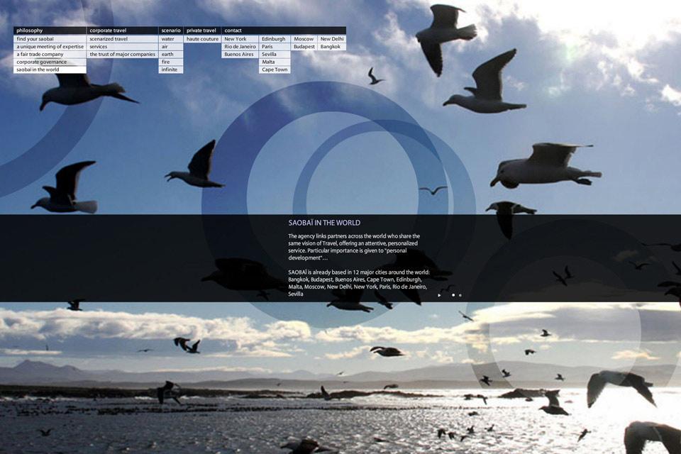 Saobai Bennat Website Design Flash UX UI Pogrammierung