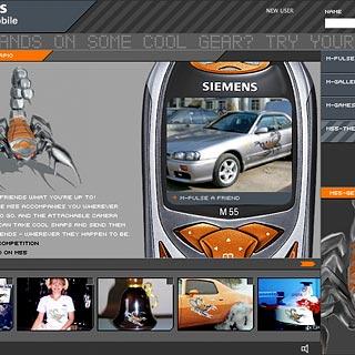 Siemens M55 Raumstation Bennat Flash