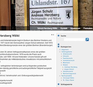 Schulz Herzberg Wölki * WordPress