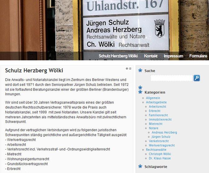 Woelki Bennat Website WP