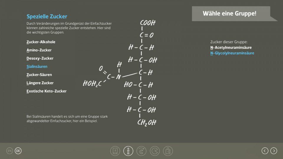 ZZ425 Alles Zucker Bennat App Design UX UI Programmierung Unity C-Sharp