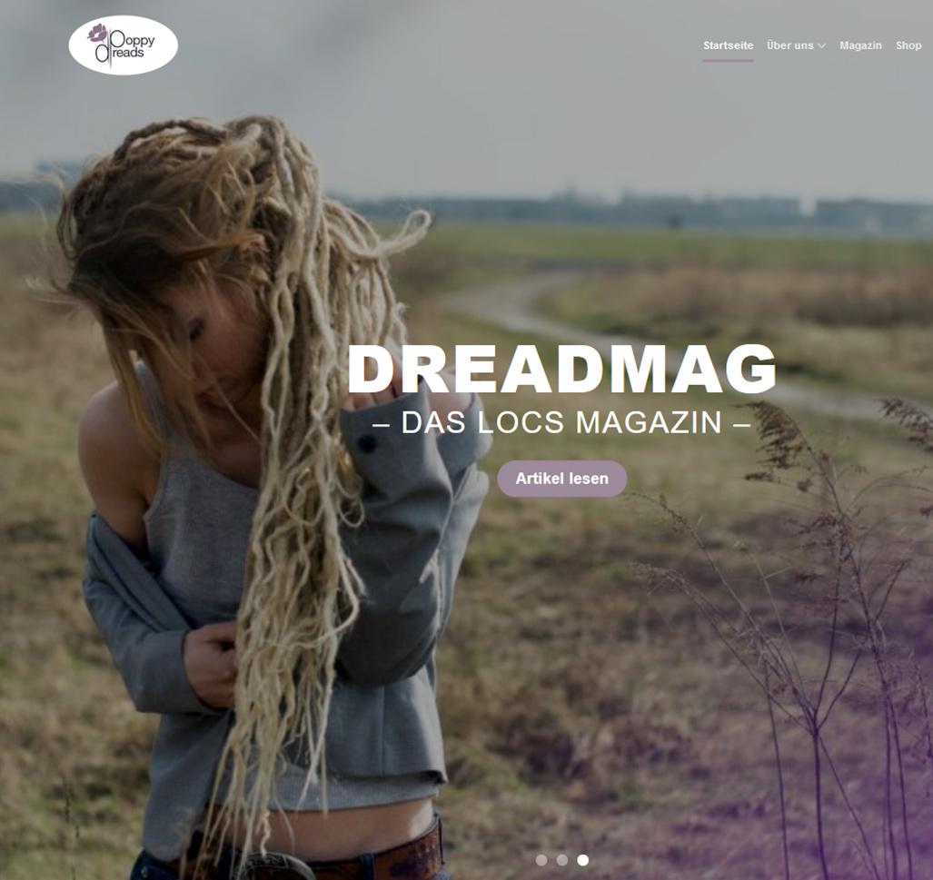Poppydreads, WordPress, Christian Bennat, Design, Programmierung, Wartung, Berlin, Friedenau