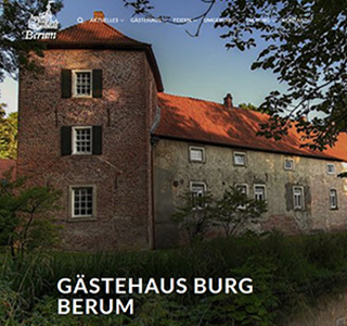Burg Berum * WordPress Website