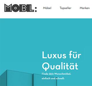 MOBL * Design Update Produktseite